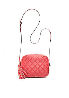 New Directions Quilted Camera Crossbody Bag