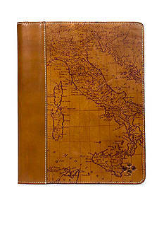Patricia Nash Map Print Toselli Leather Portfolio