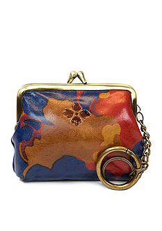 Patricia Nash Floral Squares Large Purse