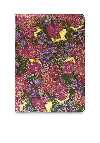 Patricia Nash Metallic Paisley Vinci Notebook