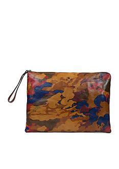 Patricia Nash Braga Leather Laptop Sleeve