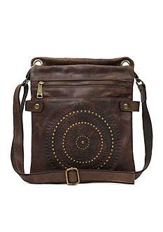 Patricia Nash Distressed Vintage Francesca Sling Bag