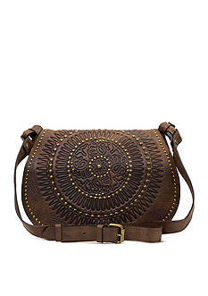 Patricia Nash Distressed Vintage Luciana Round Bag