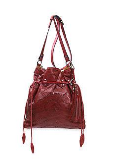 Patricia Nash Shredded Washed Caffarelli D/S Bag