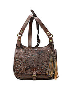 Patricia Nash London Saddle Bag