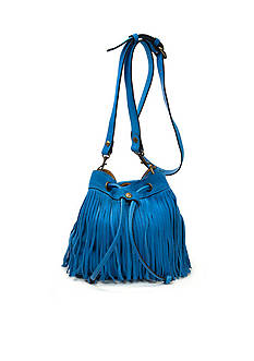 Patricia Nash Suede Elisa Bucket Bag