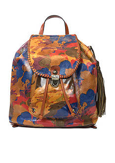 Patricia Nash Parisian Camo Casape Backpack