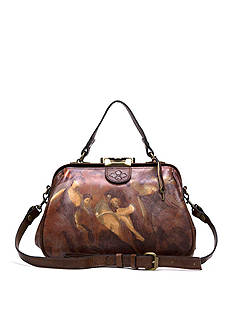 Patricia Nash Gracchi Frame Satchel Bag