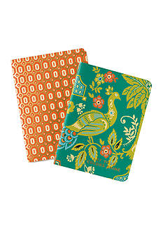 spartina 449 Peacock Manor 2-Pack Pocket Notebooks