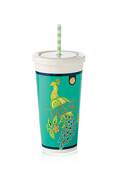 spartina 449 Peacock Manor Insulated Drink Tumbler