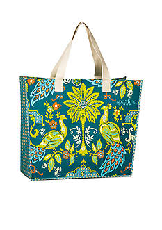 spartina 449 Peacock Manor Jumbo Market Bag