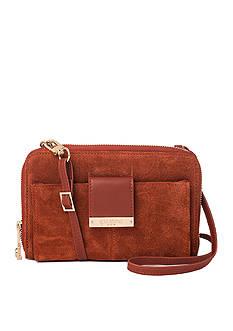 spartina 449 Suede Phone Crossbody Bag