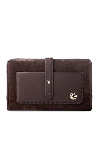 spartina 449 Suede Snap Wallet