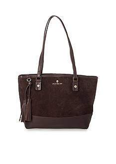 spartina 449 Suede Tassel Tote Bag
