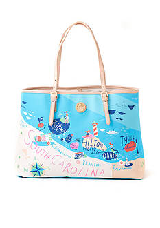 spartina 449 Map Tote