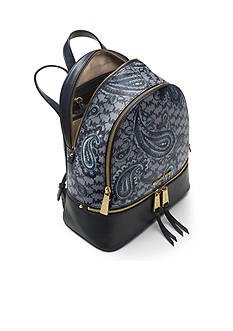 MICHAEL Michael Kors Kors Studio Collection Paisley Rhea Zip Medium Backpack