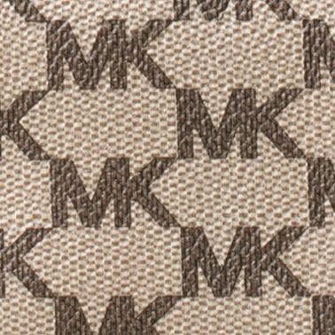 Wallets: Natural MICHAEL Michael Kors Kors Studio Collection Natalie Heritage Signature Logo Wallet