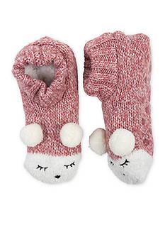 High Point Design Critter Knitters Slipper Socks- Single Pair