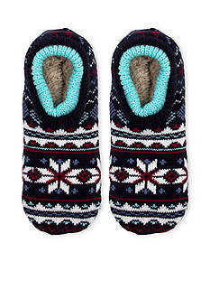 High Point Design Double Cuffer Slipper Socks - Single Pair