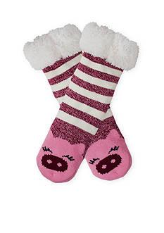High Point Design Long Critter Cozy Warmer Slipper Socks- Single Pair