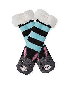High Point Design Long Critter Cozy Warmer Slipper Socks - Single Pair
