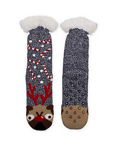 High Point Design Christmas Cozy Warmer Slipper Socks - Single Pair
