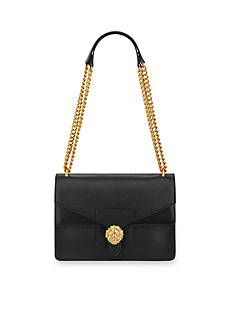 Anne Klein Diana Double Flap Chain Bag