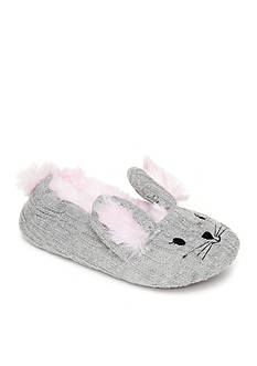 Jessica Simpson Bunny Knit Slippers
