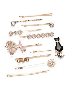 Red Camel Dog Cat Bobby Pin Pack