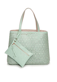 New Directions® Laser Cut Reversible Tote