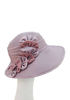 F&M Hats Feminine Kaney With Chiffon And Satin Hat