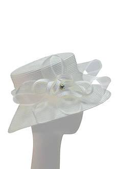 Giovannio Matte Braid Suitor Hat