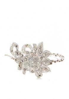 Giovannio Medium Beaded Lace Bridal Headband
