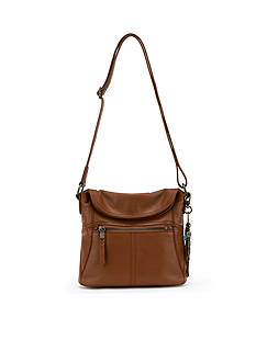 The Sak Esperato Leather Small Flap Crossbody Bag