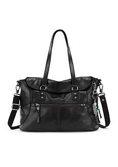 The Sak Esperato Flap Satchel Bag