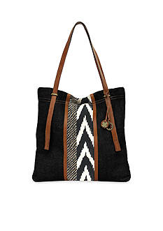 Lucky Brand Handbags Kendal Linen North/South Tote