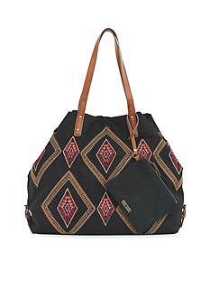 Lucky Brand Handbags Serena Canvas Tote