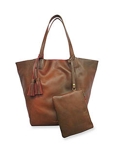 Lucky Brand Handbags Resse Leather Reversible Tote