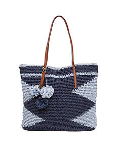 Lucky Brand Cabo Tote Bag Blue