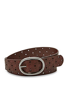 Fossil® Signature Perforated Belt