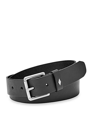 Fossil® Diamond Keeper Leather Belt