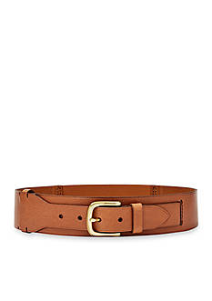 Fossil® Elastic Waist Leather Belt