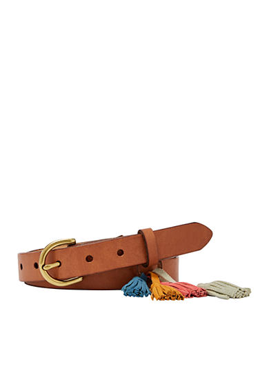 Fossil® Tassel Party Belt