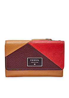 Fossil® Dawson Colorblock Multifunction Wallet