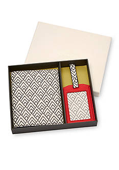 Fossil Keely Passport Case and Luggage Tag Gift Set