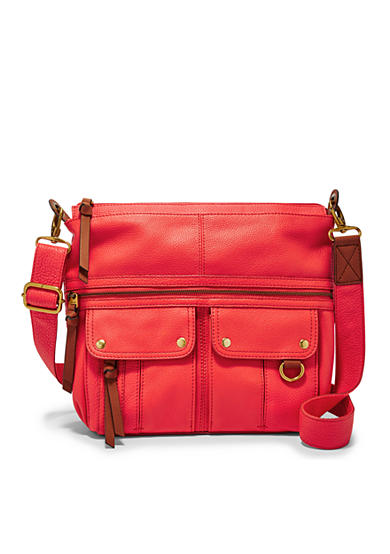 Fossil® Morgan Traveler Leather Crossbody Bag