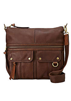 Fossil® Morgan North South Top Zip Crossbody