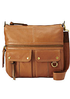 Fossil Morgan Ns Top Zip Crossbody
