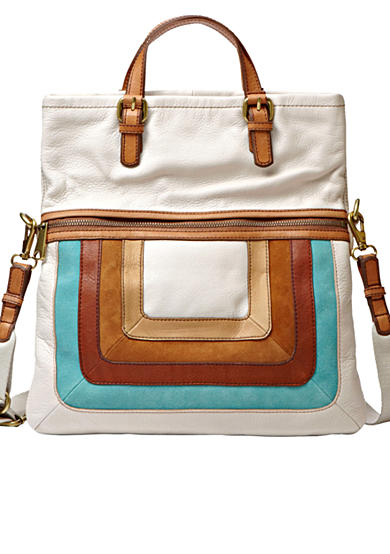 Fossil® Explorer Patchwork Tote