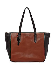 Fossil® Sydney Leather Colorblock Shopper Bag